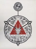Mandala del triángulo escarlata